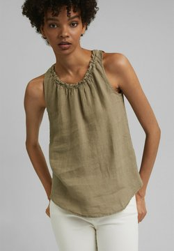 edc by Esprit - Bluse - light khaki