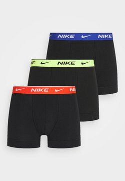 Nike Underwear - DAY STRETCH TRUNK 3 PACK - Shorty - black