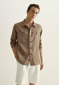 Massimo Dutti - MIT TASCHEN  - Koszula - brown
