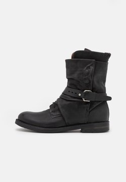 A.S.98 - SAMURAI - Lace-up ankle boots - nero
