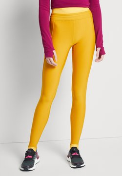 adidas Performance - ASK C.RDY - Tights - dark yellow