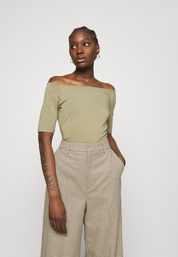 Modström - TANSY  - T-Shirt basic - light khaki