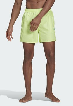 adidas Performance - SOLID SWIM SHORTS - Szorty kąpielowe - yellow