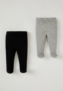 DeFacto - 2 PACK - Pantalones deportivos - black