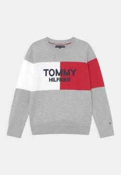 Tommy Hilfiger - COLORBLOCK ARCHIVE - Jersey de punto - grey heather