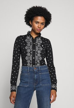 Polo Ralph Lauren - HEIDI LONG SLEEVE - Button-down blouse - new classic black