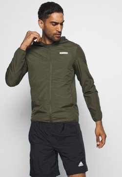 Jack & Jones Performance - JCOZSPORT JACKET - Verryttelytakki - forest night