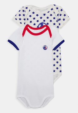 Petit Bateau - 2 PACK - Body - white/multicoloured