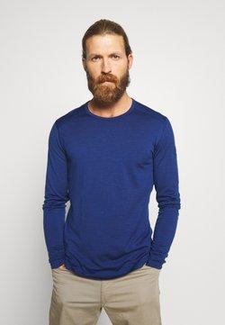 Icebreaker - MENS CREWE - Funktionsshirt - estate blue