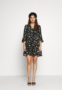Vero Moda Petite - VMSIMPLY EASY SHORT DRESS  - Robe d'été - black