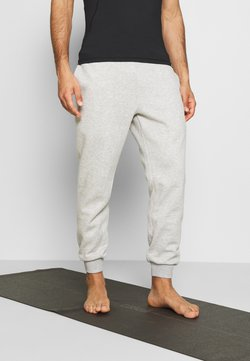 Curare Yogawear - LONG PANTS - Jogginghose - lightgrey melange