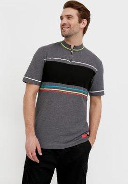 Finn Flare - T-Shirt print - dark grey melange