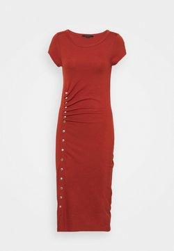 AllSaints - HATTI TEE DRESS - Maxikleid - arabian spice red