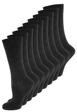 camano - UNISEX 9 PACK - Calze - black