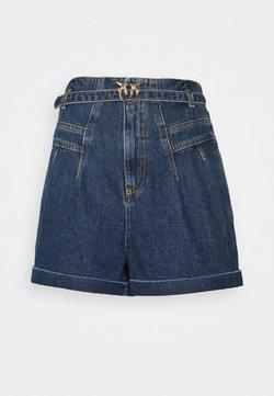 Pinko - NOVA - Shorts - dark-blue denim
