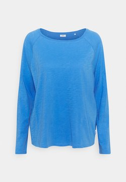Marc O'Polo DENIM - LONG SLEEVE RAGLAN SLEEVE RELAXED FIT - Langarmshirt - intense blue