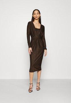 YAS - YASYEN V NECK MIDI DRESS - Cocktail dress / Party dress - black
