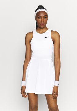 Nike Performance - ADVANTAGE DRESS - Sportklänning - white/black