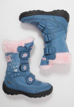 LICO - MARY - Snowboot/Winterstiefel - blau/rosa