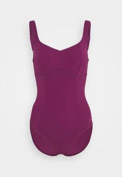 Speedo - CONTOUR LUSTRE  - Costume da bagno - deep plum