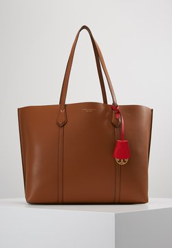Tory Burch - PERRY TRIPLE COMPARTMENT TOTE - Torba na zakupy - light umber