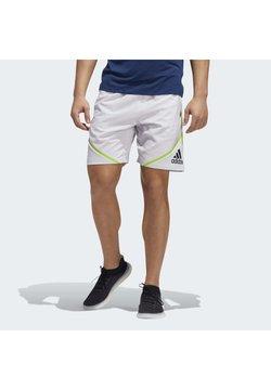 adidas Performance - PRIMEBLUE SHORTS - Pantalón corto de deporte - grey