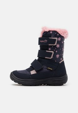 Superfit - CRYSTAL - Snowboot/Winterstiefel - blau/rosa