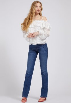 Guess - Blouse - mehrfarbig, weiß