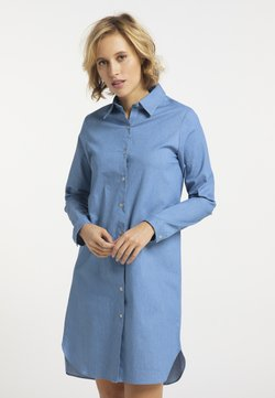 usha - Vestido camisero - helldenim