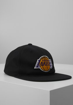 Mitchell & Ness - NBA LA LAKERS TEAM LOGO DEADSTOCK THROWBACK SNAPBACK - Cap - black