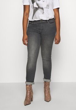 Zizzi - EMILY FIT - Slim fit jeans - grey denim