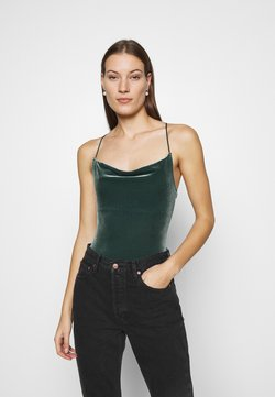 Abercrombie & Fitch - COZY CHASE - Top - dark green