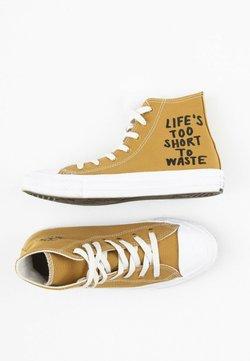 Converse - Sneakersy wysokie - yellow