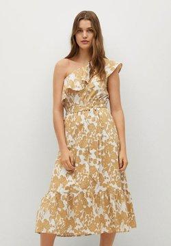 Mango - GLORIA-L - Cocktailkleid/festliches Kleid - beige