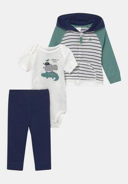 Carter's - STRIPE SET - T-Shirt print - dark blue/green
