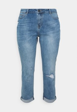 Simply Be - FERN BOYFRIEND - Jeans Relaxed Fit - stone blue denim