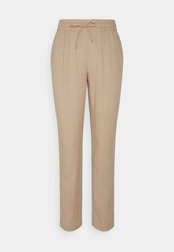 Vero Moda - VMASTIMILO ANKLE PANTS - Trousers - beige