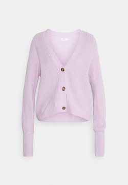 ONLY - ONLNICOYA CLARE CARDIGAN - Cardigan - lavender frost