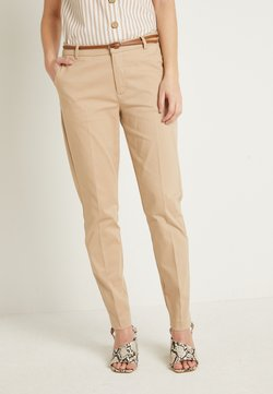 b.young - DAYS CIGARET PANTS  - Chinot - beige