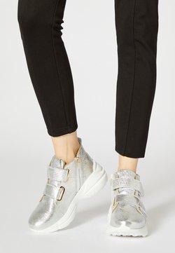 faina - Sneakers hoog - silver