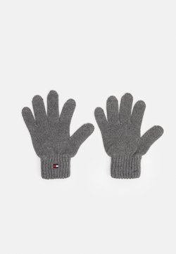 Tommy Hilfiger - FLAG GLOVES UNISEX - Fingerhandschuh - grey