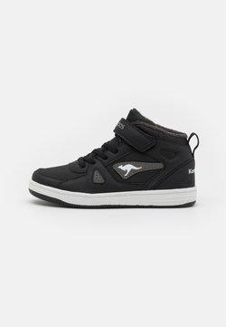 KangaROOS - KALLEY II  - Höga sneakers - jet black/steel grey