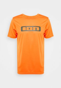 ION - TEE SCRUB - T-Shirt print - riot orange