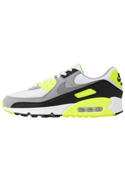 Nike Sportswear - AIR MAX 90 - Sneakers laag - white/particle grey/light smoke grey/black/volt