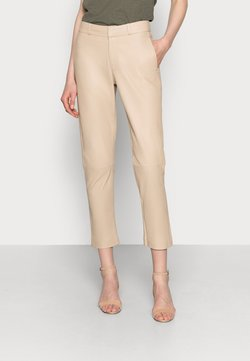 Ibana - PIAS - Pantalon en cuir - latte