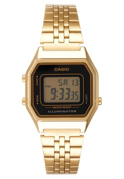 Casio - Zegarek cyfrowy - gold-coloured/black