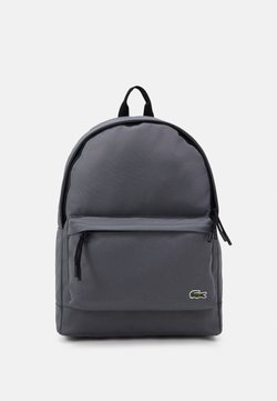 Lacoste - BACKPACK - Reppu - smoked pearl noir