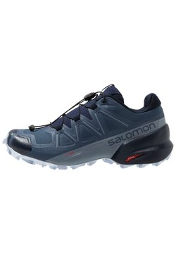 Salomon - SPEEDCROSS 5 - Zapatillas de trail running - sargasso sea/navy blazer/heather