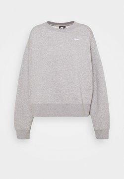 Nike Sportswear - CREW TREND - Collegepaita - grey heather/white