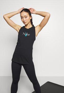 Nike Performance - DRY TANK YOGA - T-shirt de sport - black